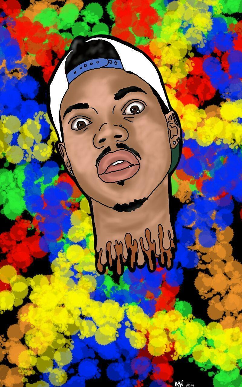 Chance The Rapper by AshleyLWC