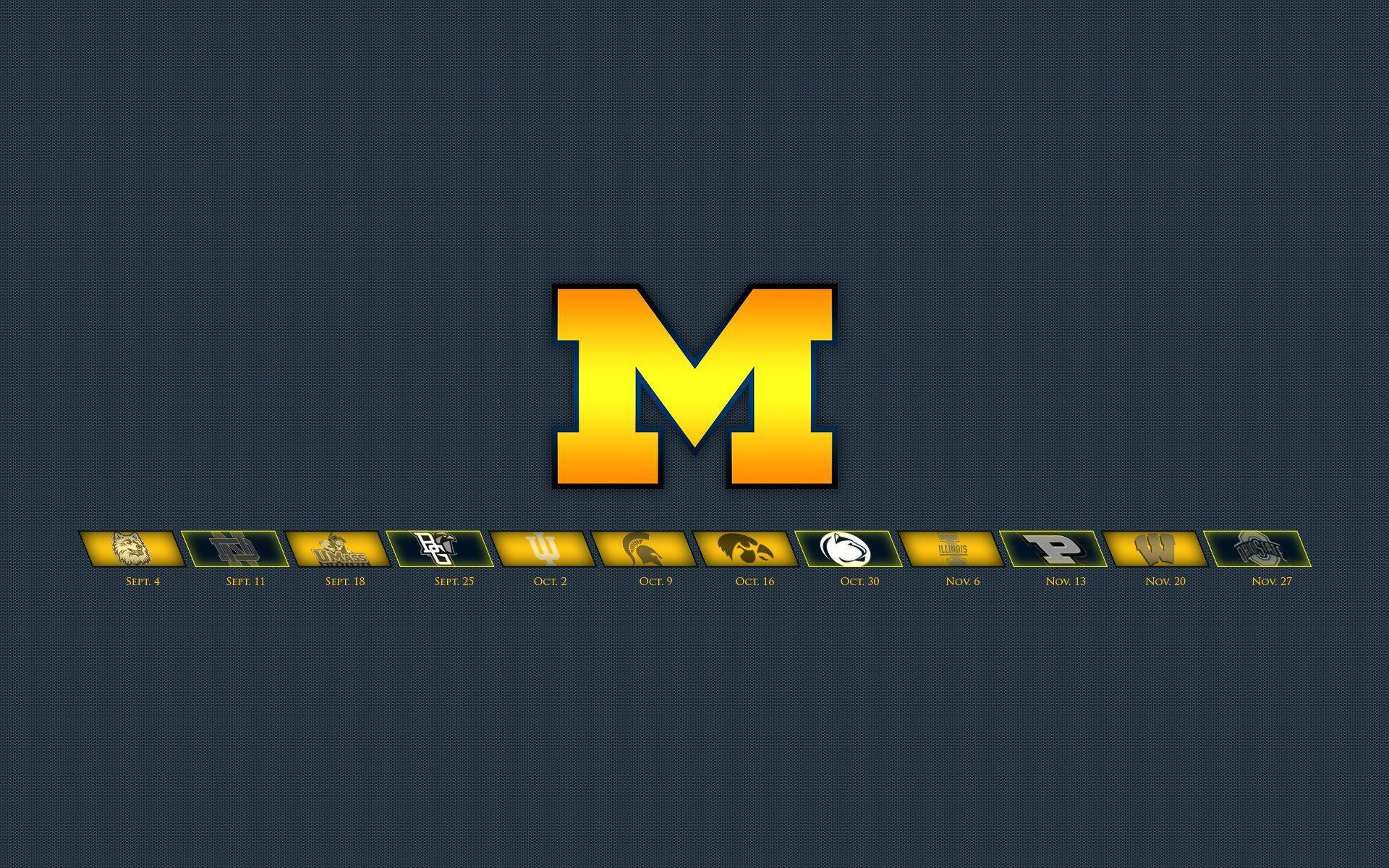 MICHIGAN WOLVERINES college football wallpaper | 1920x1200 .
