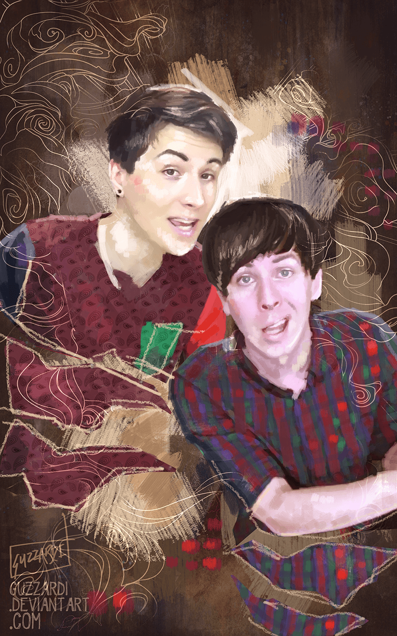 Dan and Phil Wallpapers by Liskeke