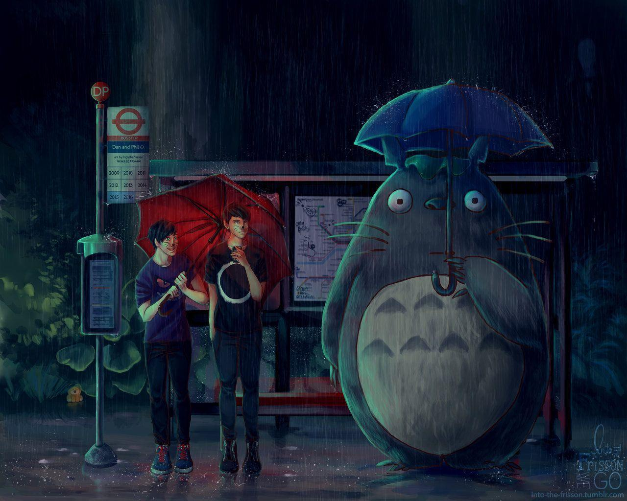 AmazingPhil Totoro Wallpapers