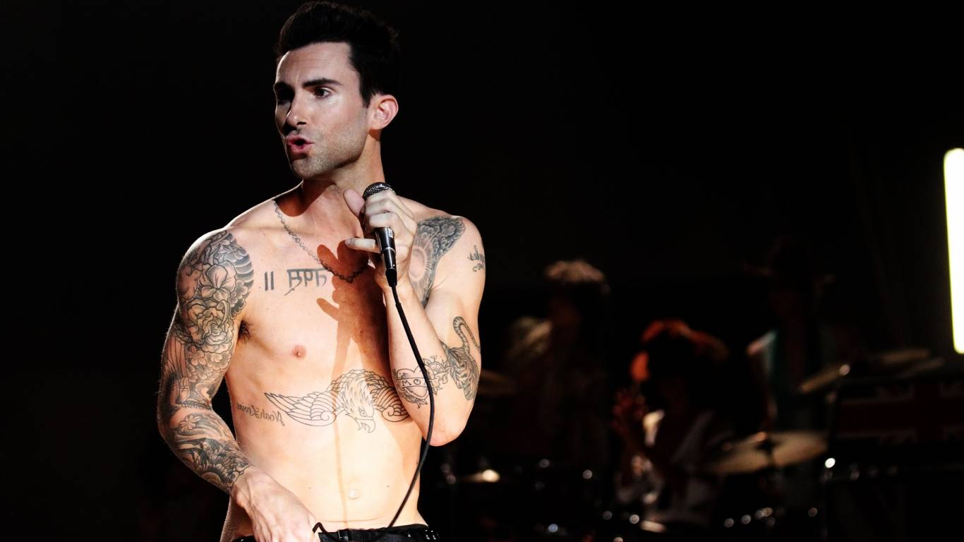 45 High Quality Adam Levine Wallpapers | Full HD Pictures