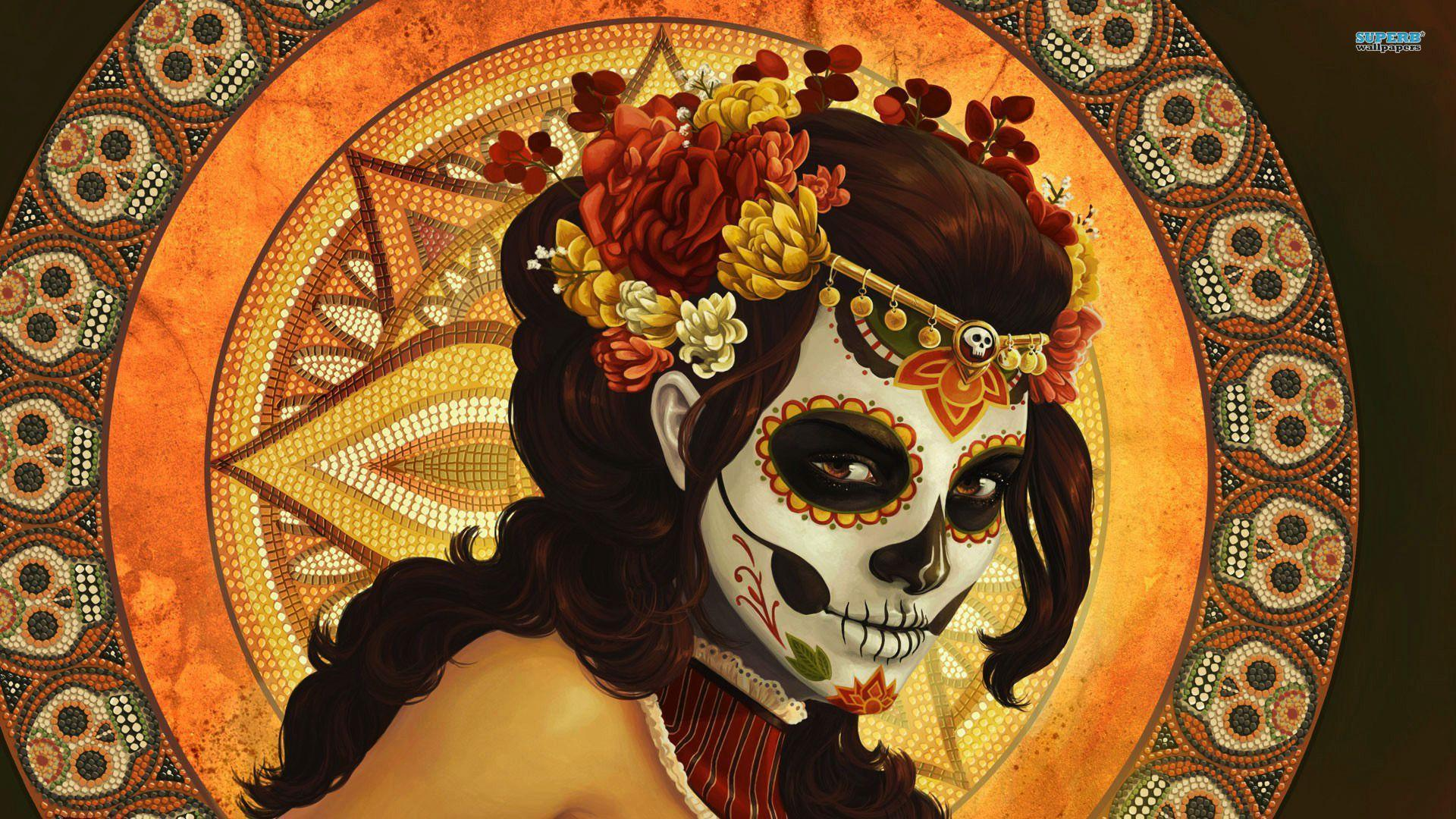 Day Of The Dead Wallpapers Wallpaper Cave