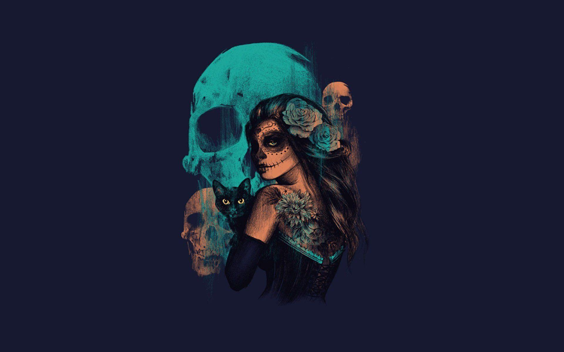 Day Of The Dead Wallpapers - Wallpaper Cave