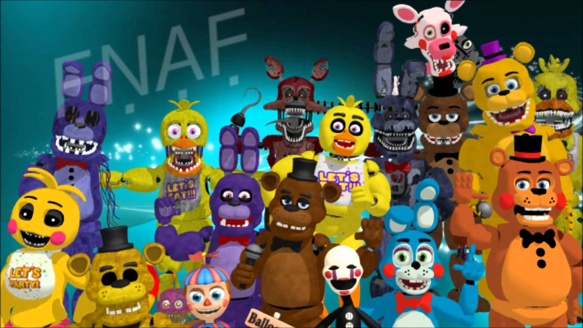 Five Nights At Freddy's Wallpaper - partie 2 - YouTube