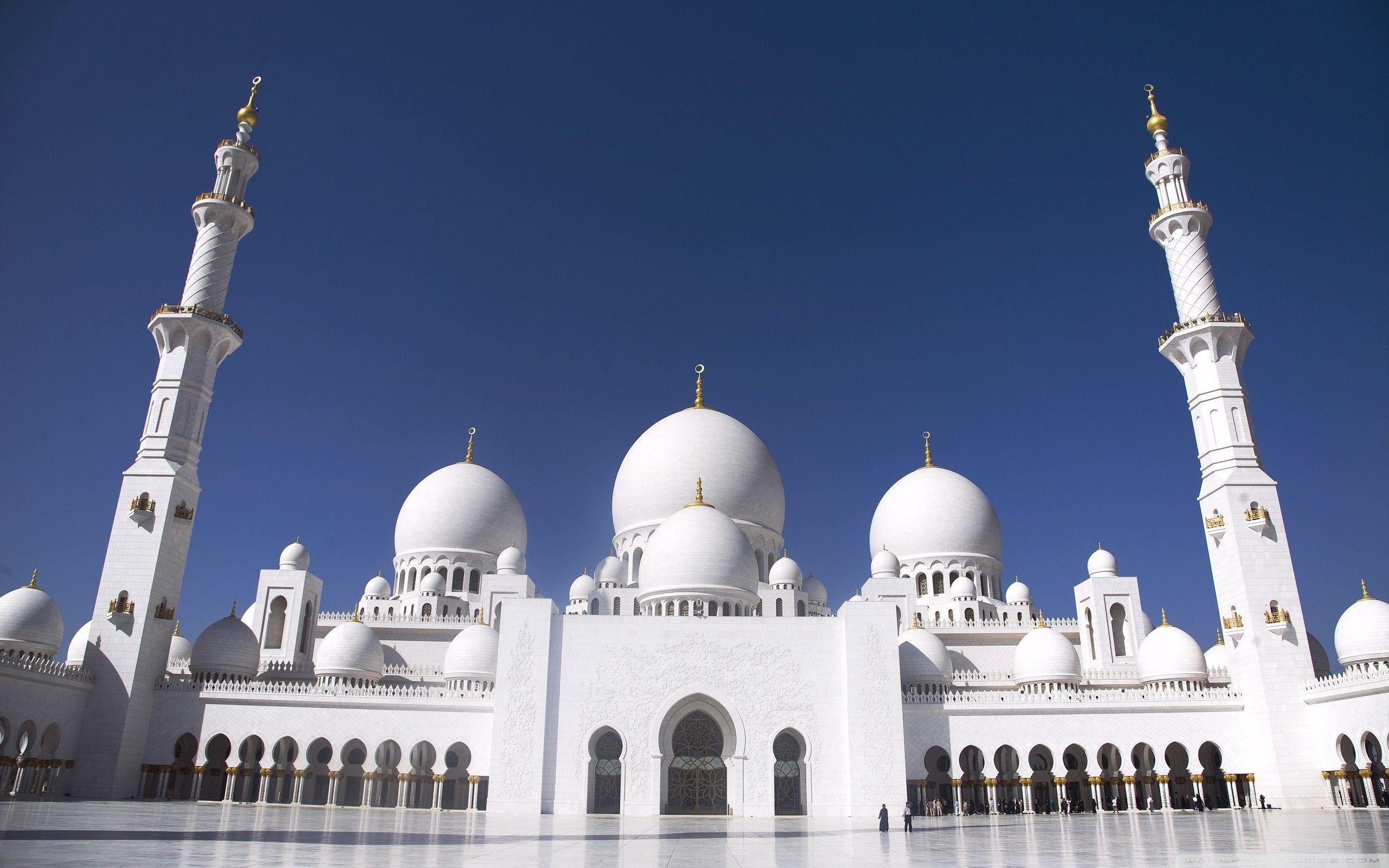 Sheikh Zayed Grand Mosque, Abu Dhabi, United Arab Emirates HD