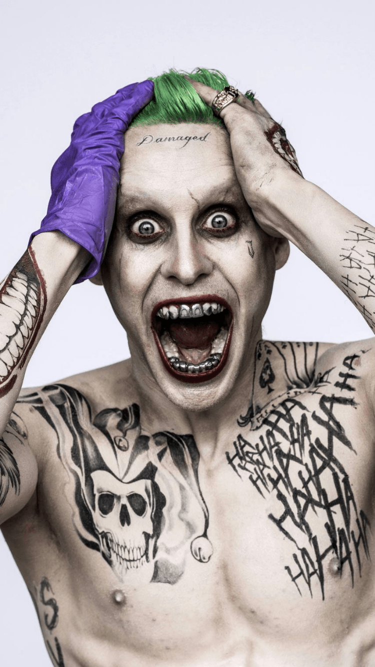 Joker Jared Leto Wallpapers Wallpaper Cave