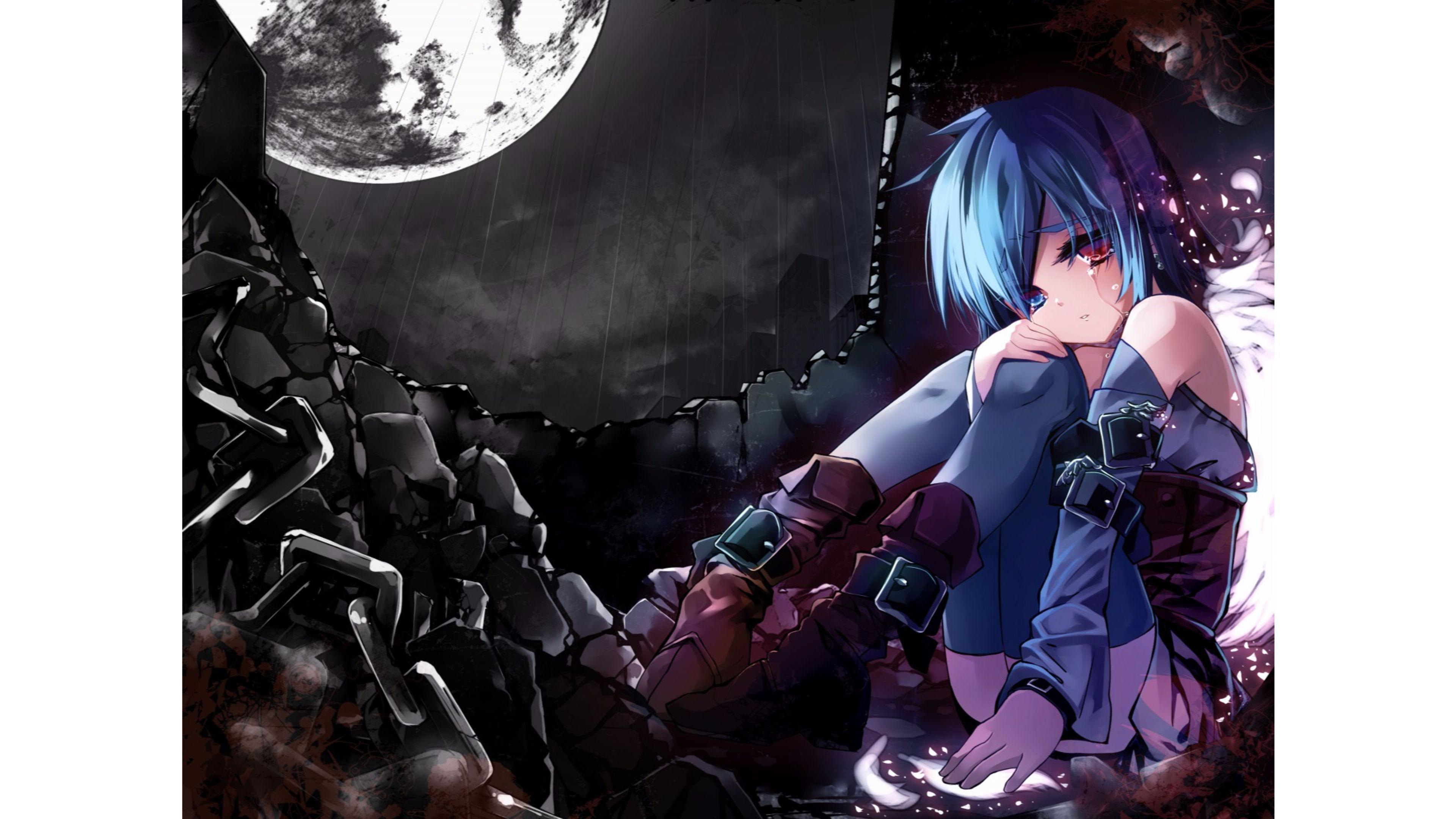 Sad Anime Wallpapers  Wallpaper Cave