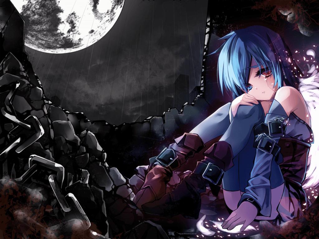 Sad anime wallpapers wallpaper cave - Y love hurt wallpaper ...