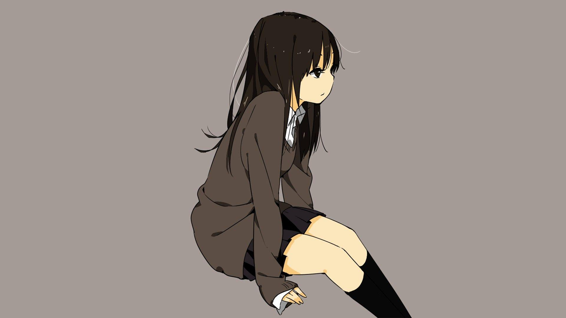 Sad Anime Girl HD Wallpapers
