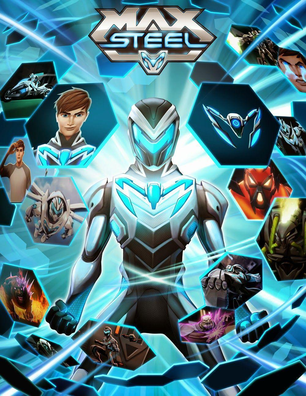 It is a photo of Impertinent Max Steel Pictures