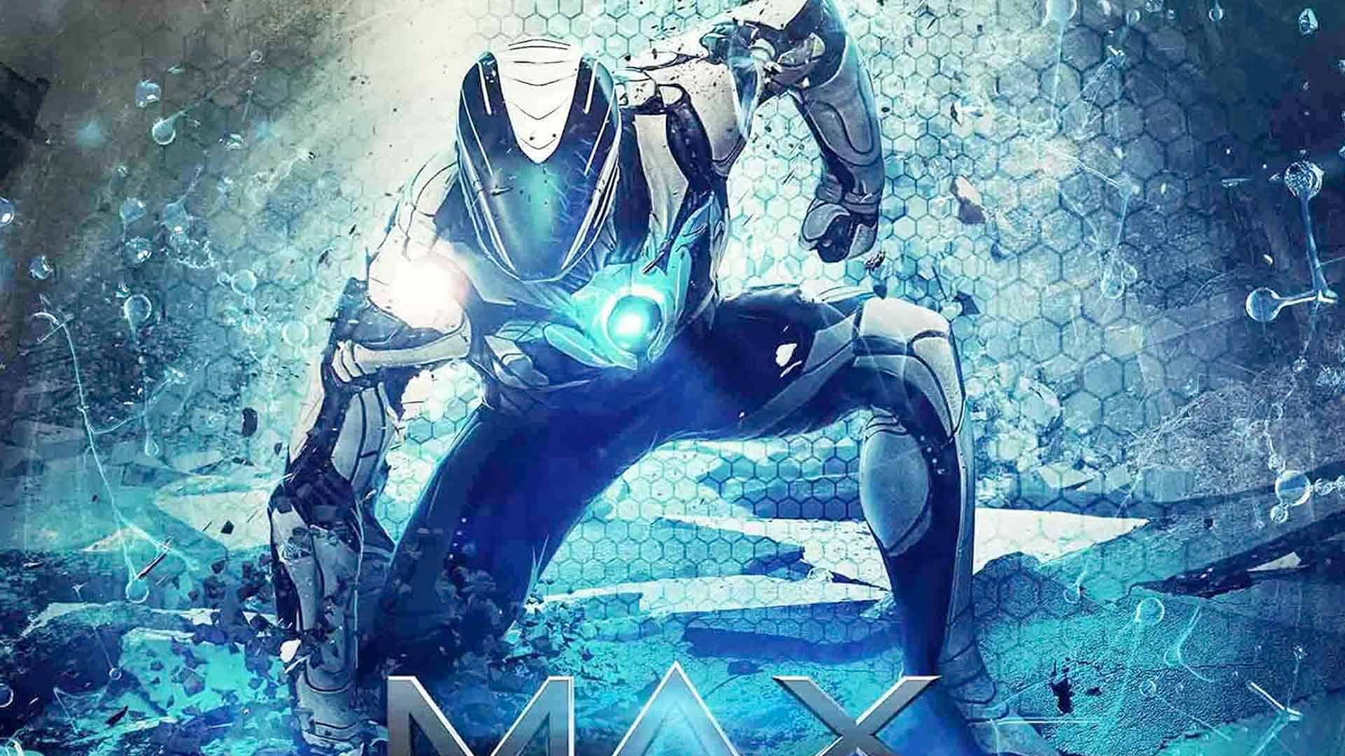 This is an image of Nerdy Max Steel Pictures
