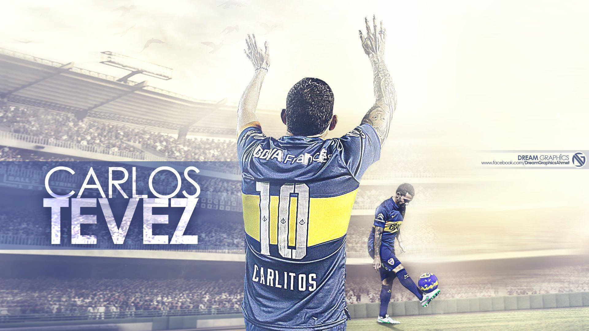 Carlos Tevez Boca Juniors Wallpaper | Football Wallpapers HD ...