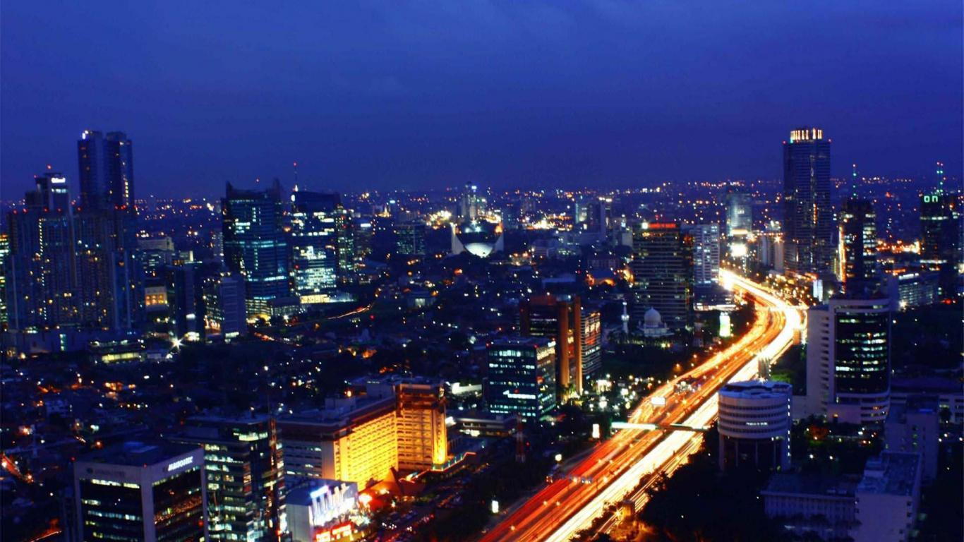 Wallpapers Girl Skyline Jakarta Pictures Store 1366x768 | #146342 ...