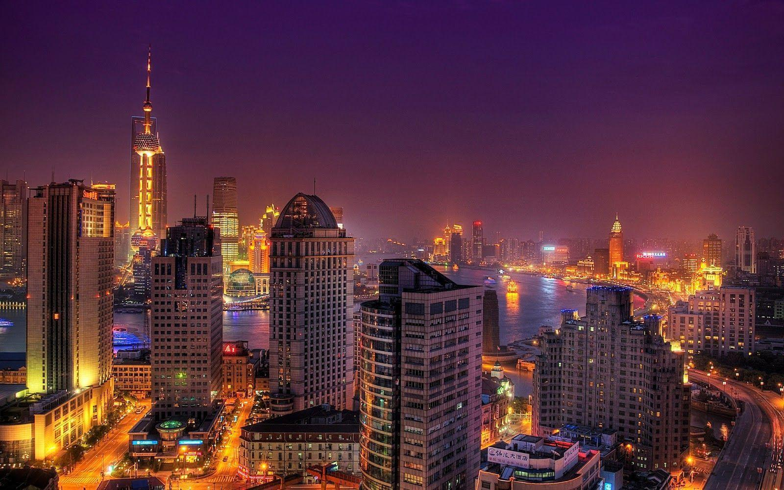 Cities Of The World Wallpapers HD Part 5 (Singapore, Shanghai, Sao ...