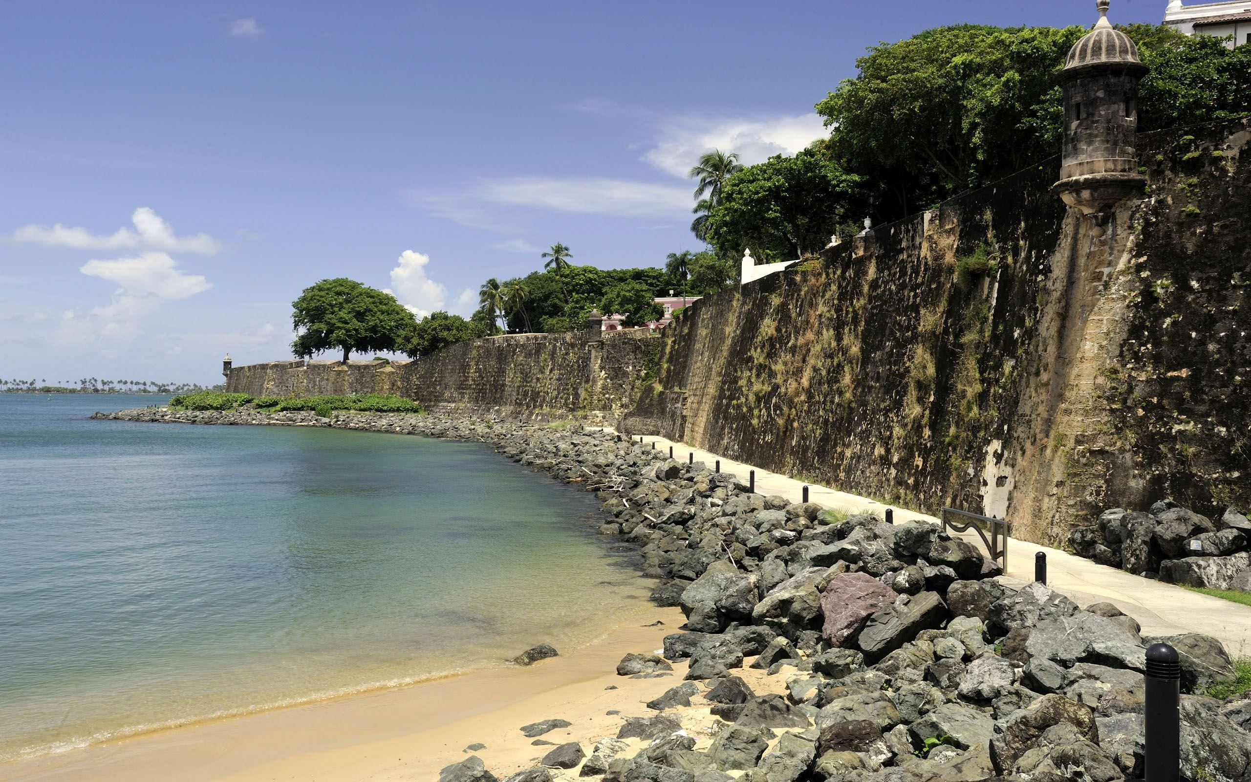 the background of the beautiful island puerto rico Luquillo beach: most beautiful beach on the island - see 973 traveler reviews, 518 candid photos, and great deals for el yunque national forest, puerto rico, at tripadvisor.