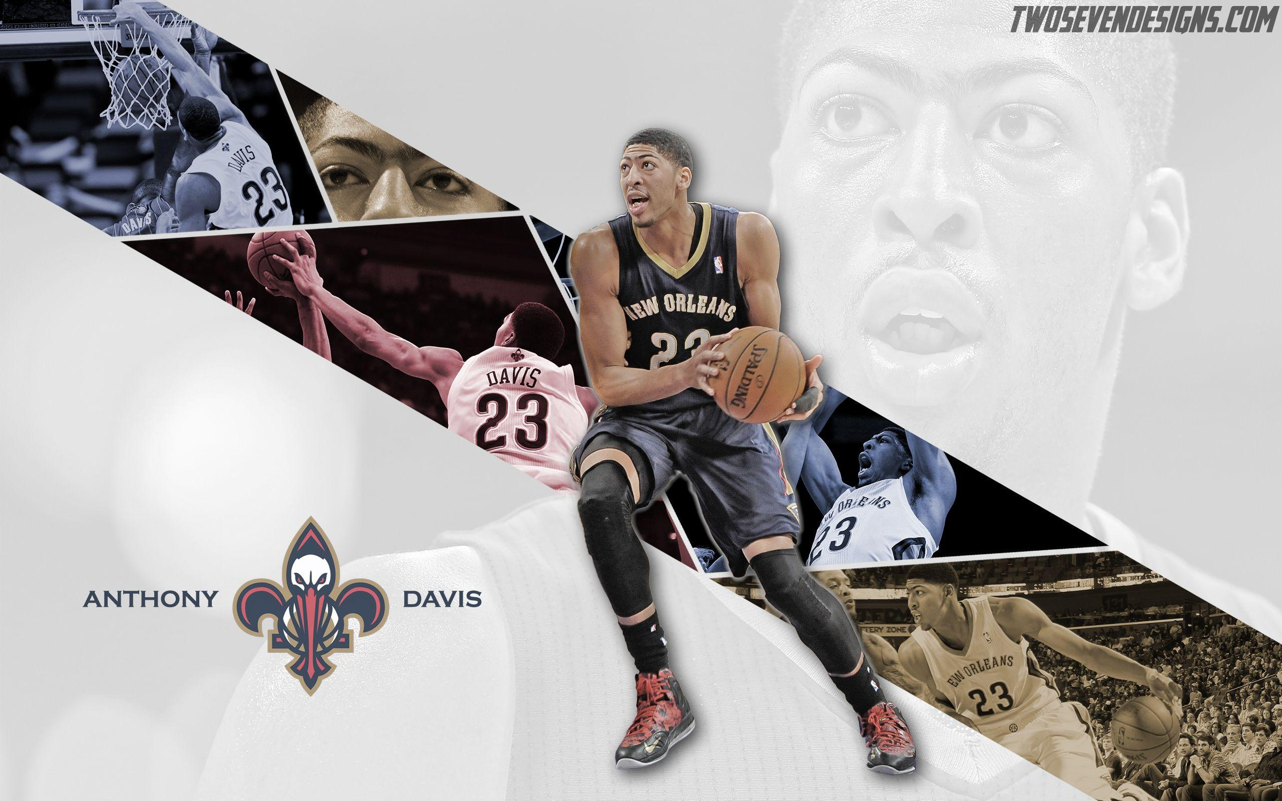 NEW Anthony Davis Wallpaper | Two Seven Designs
