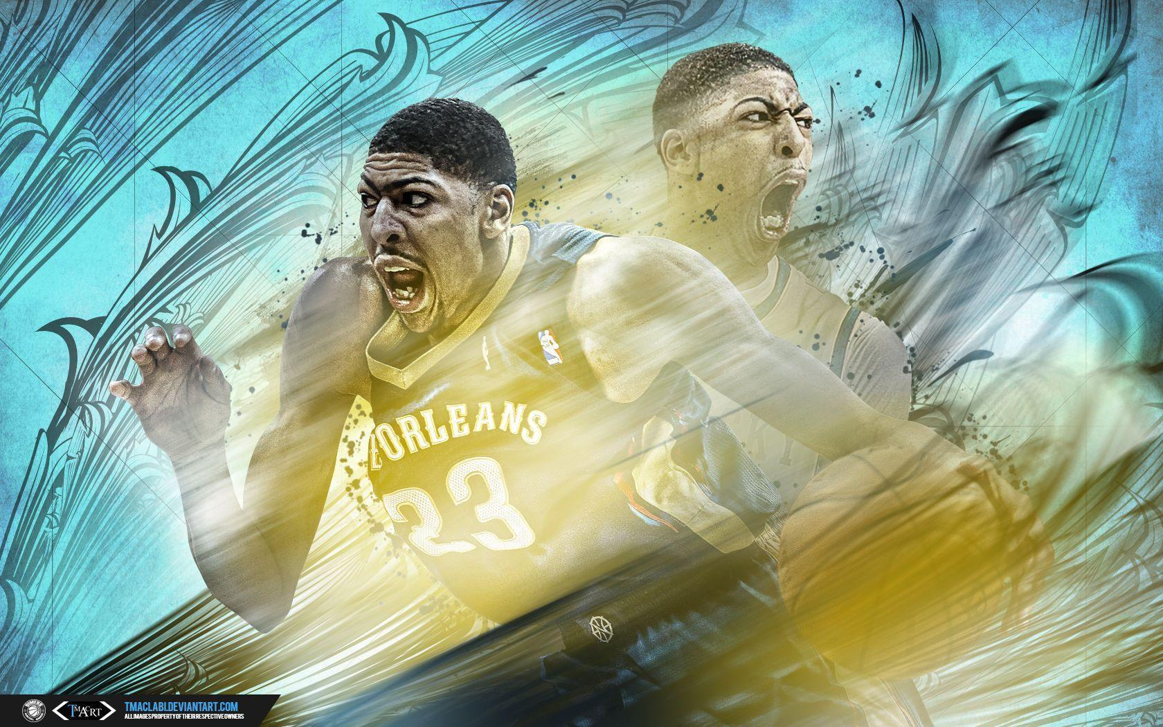 Anthony Davis Past and Present Wallpaper by tmaclabi on DeviantArt