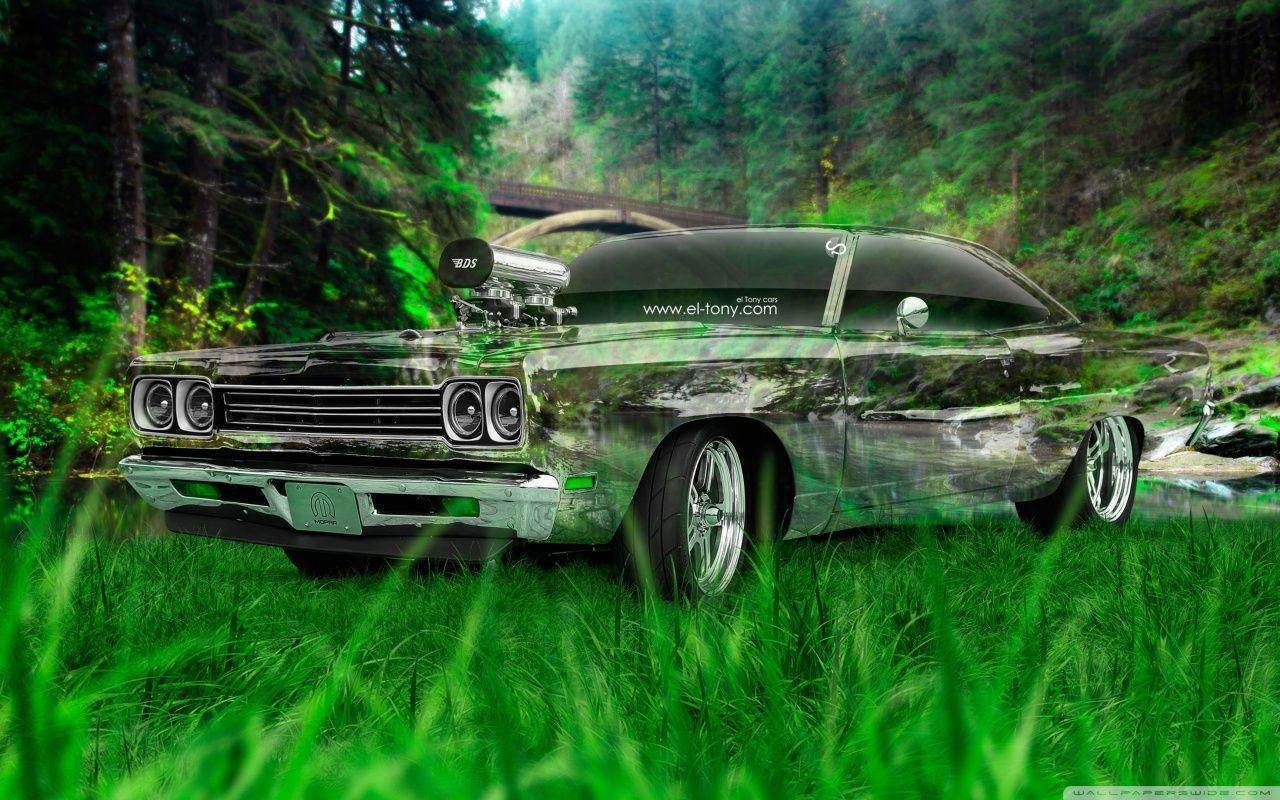 Plymouth Road Runner 1969 Tuning Muscle Crystal Nature Car 2015 HD ...
