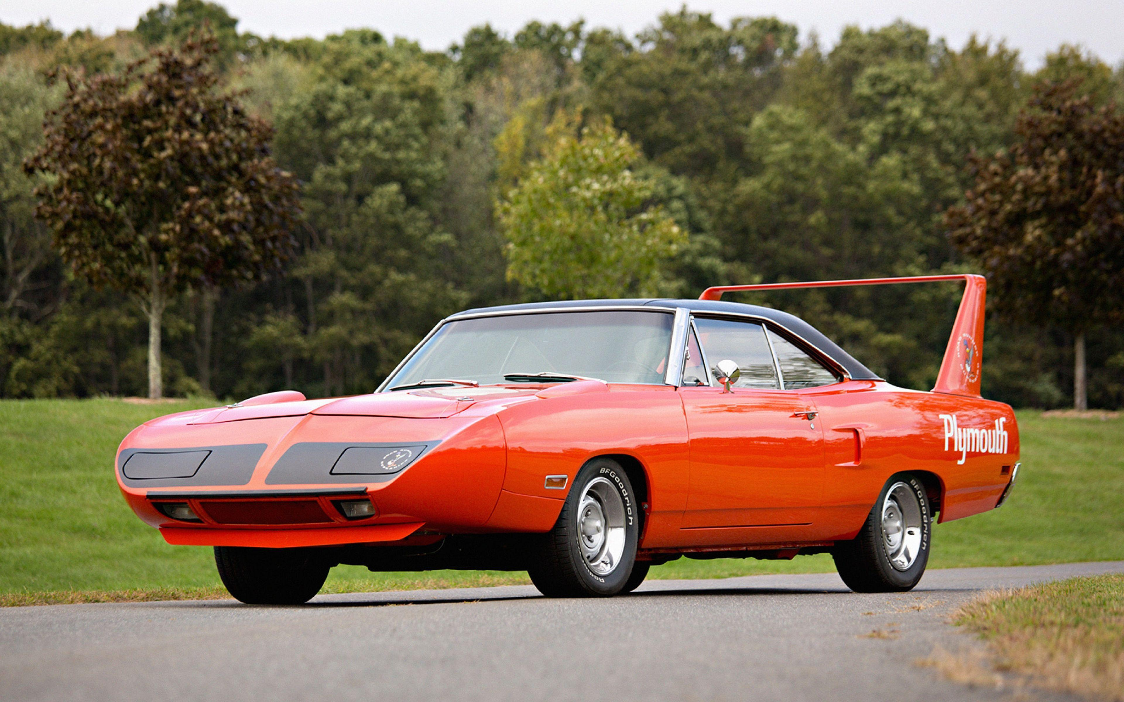 Download Wallpaper 3840x2400 Plymouth, Road runner, Superbird ...
