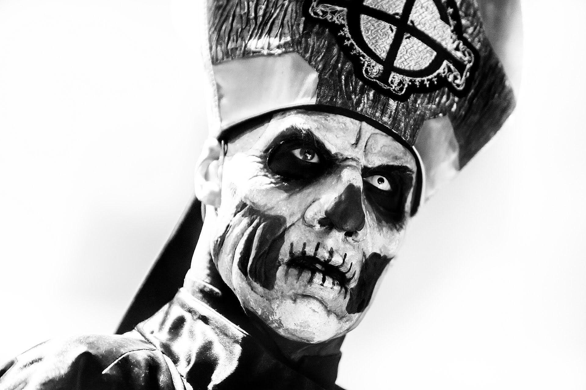 Metal Band Skull Paint