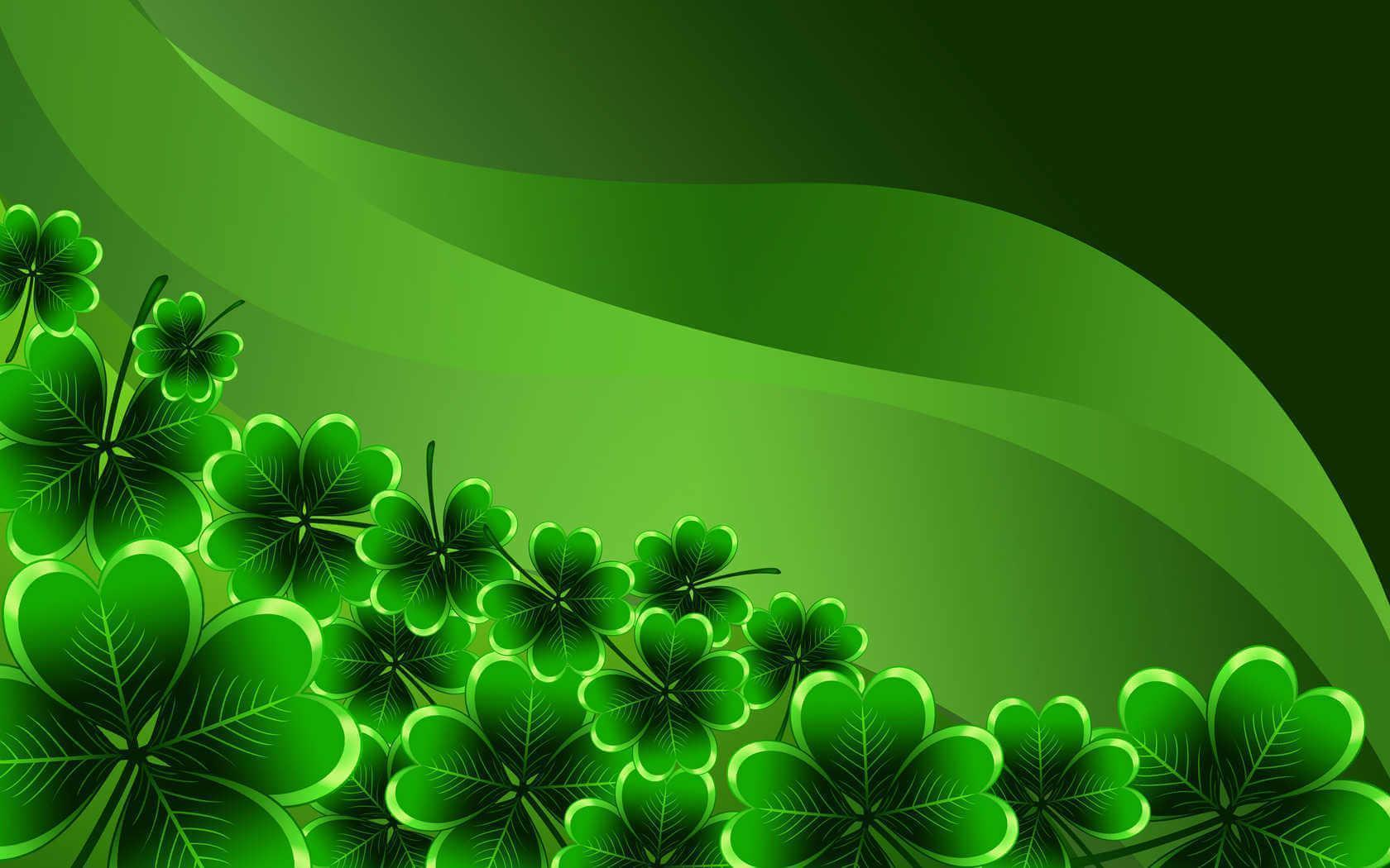 irish shamrock wallpapers wallpaper cave