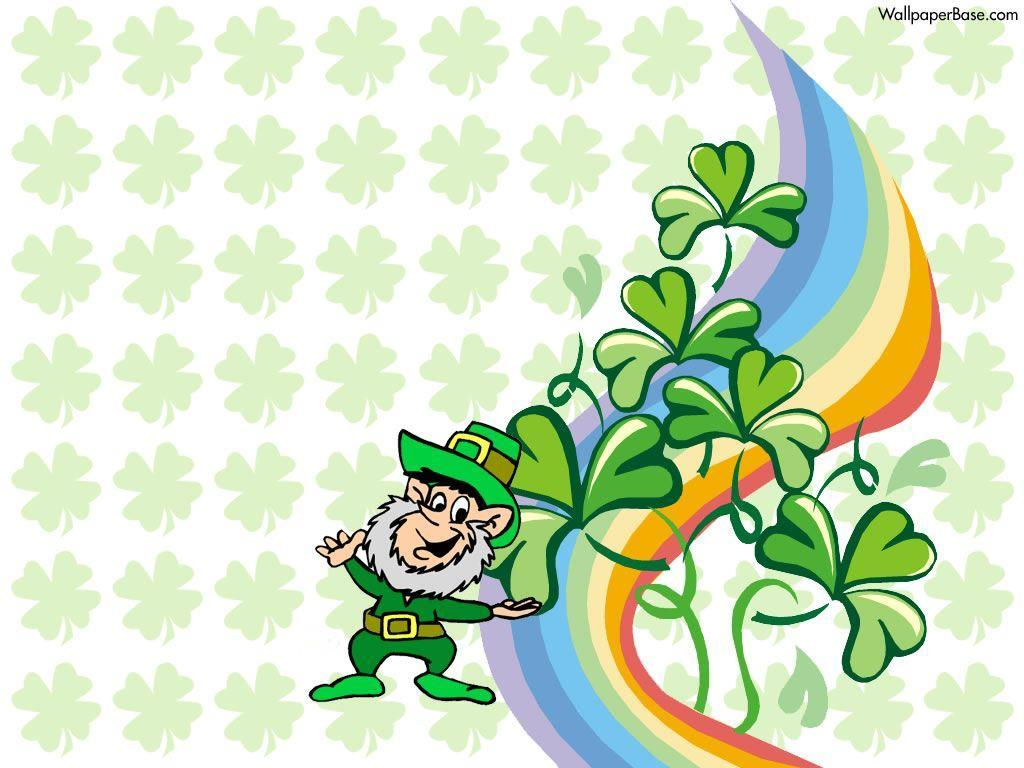 Get Lucky with Leprechaun Desktop Wallpaper for St. Patrick's Day ...