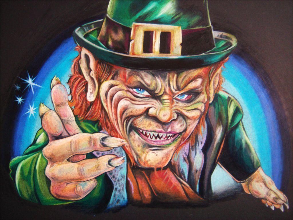 Evil Leprechaun Wallpaper - WallpaperSafari