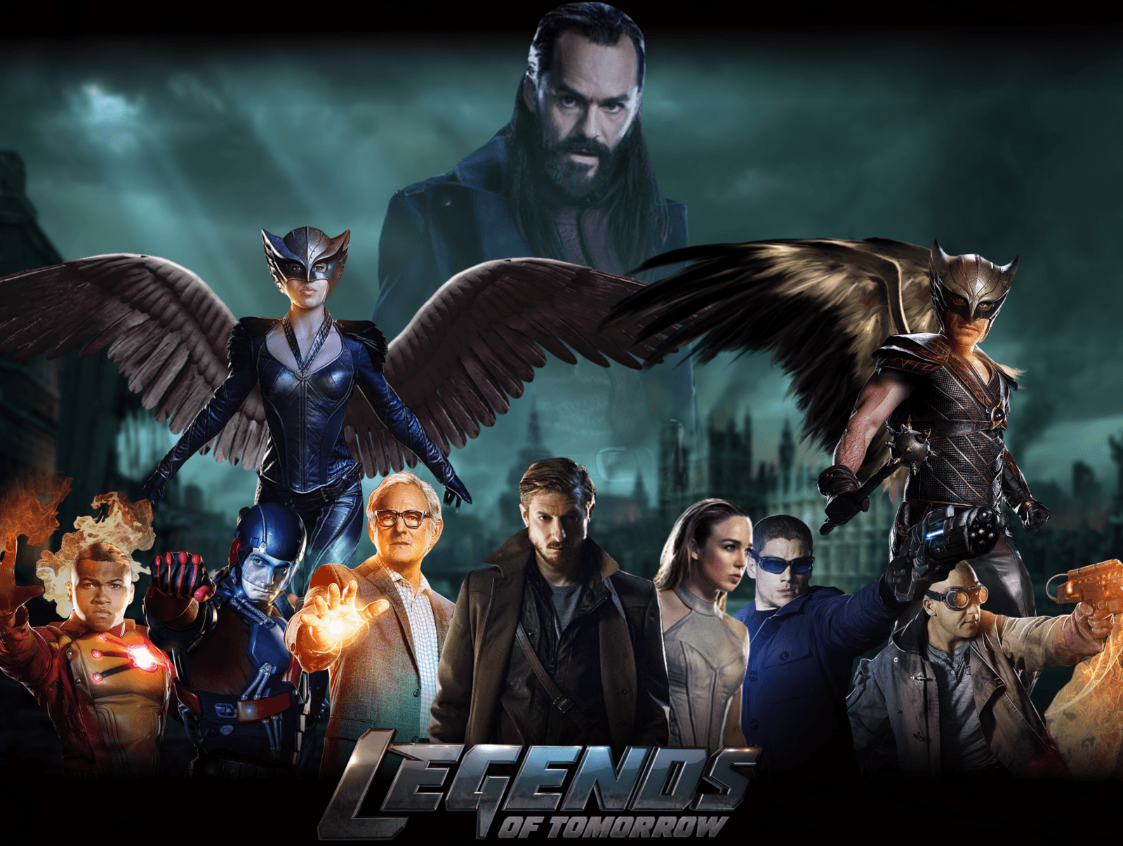 Legends Of Tomorrow Wallpapers Wallpaper Cave