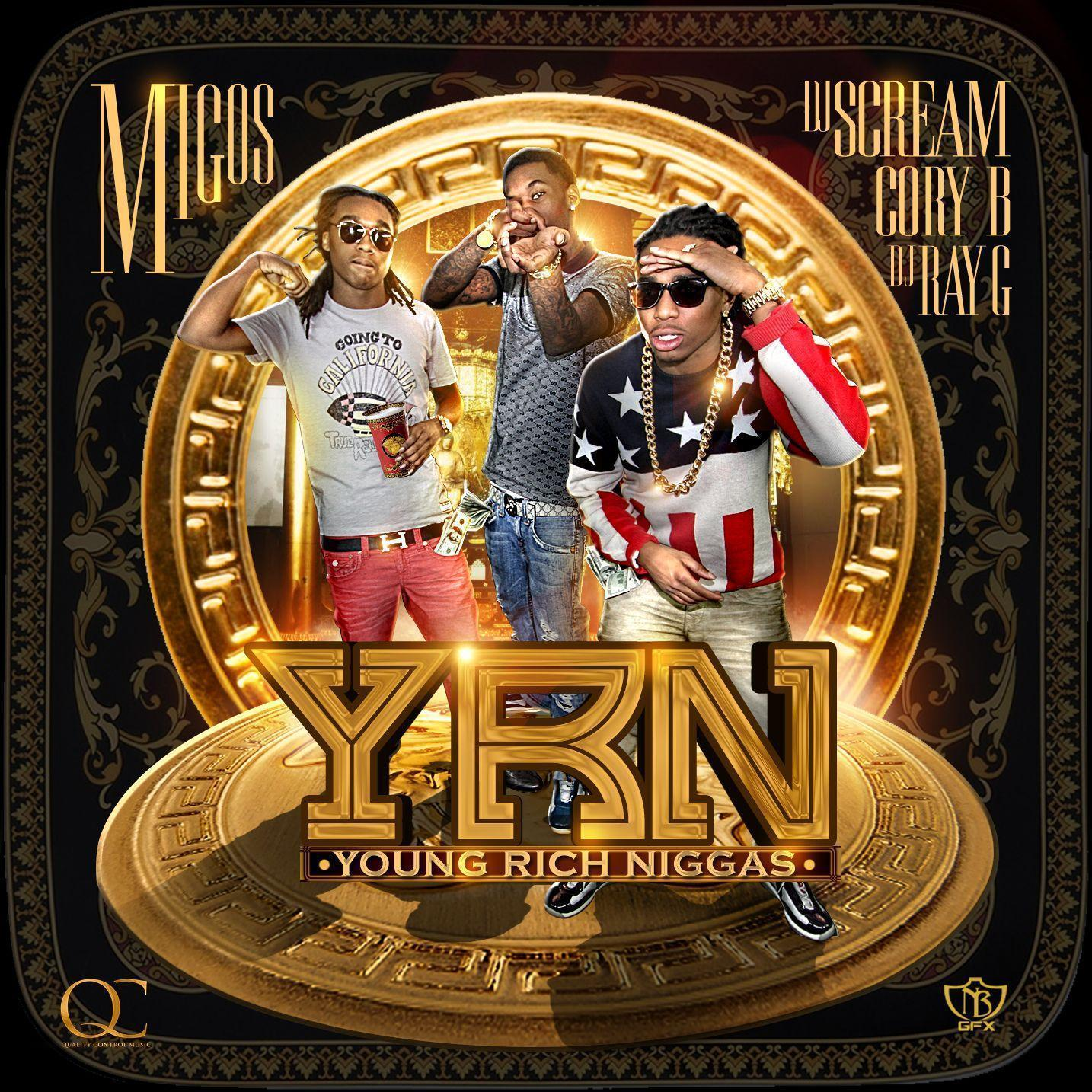 "Migos - ""Young Rich Niggas"" ft. Riff Raff, Trinidad James, Gucci ..."