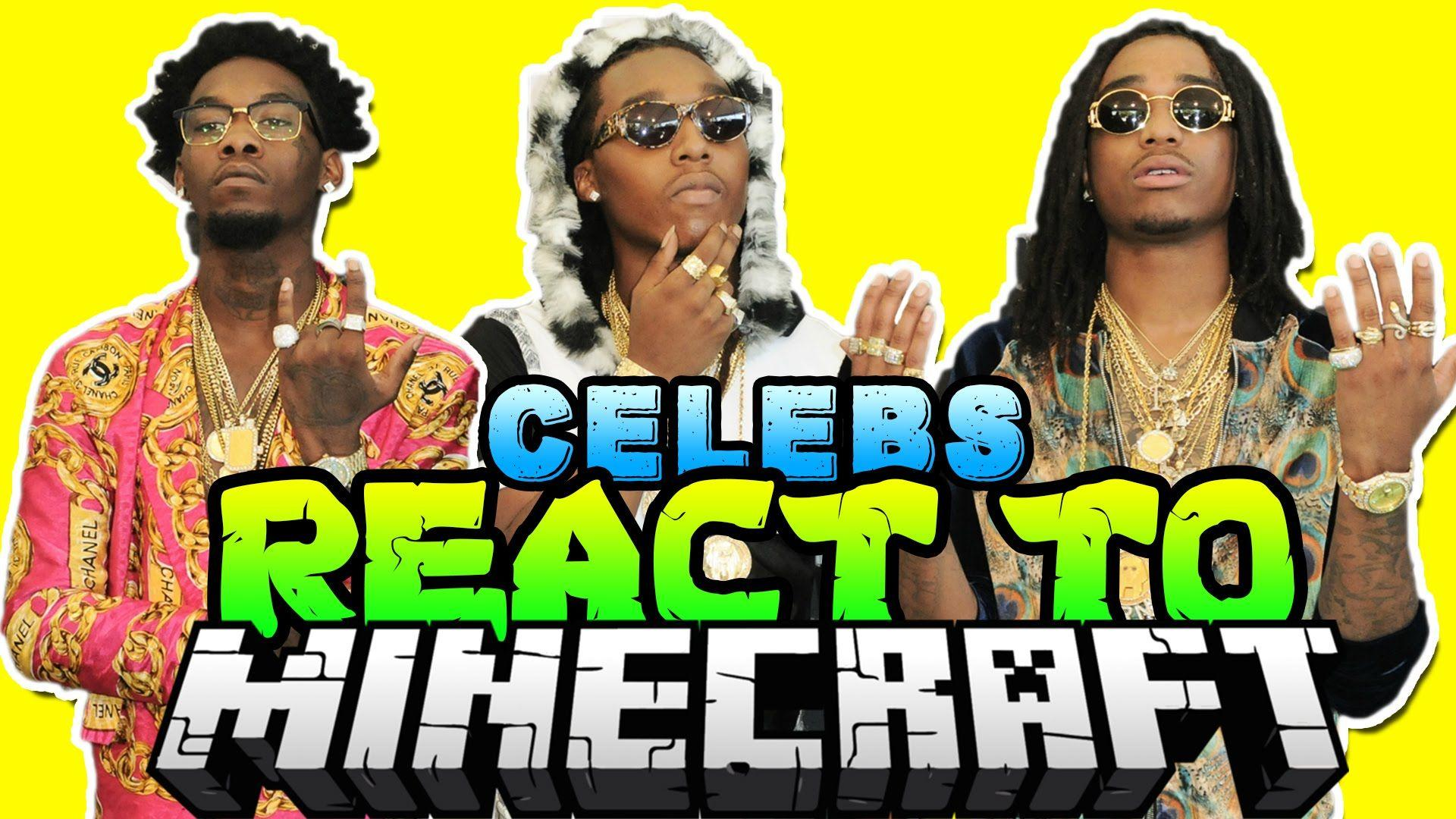 MIGOS REACTS TO MINECRAFT - YouTube