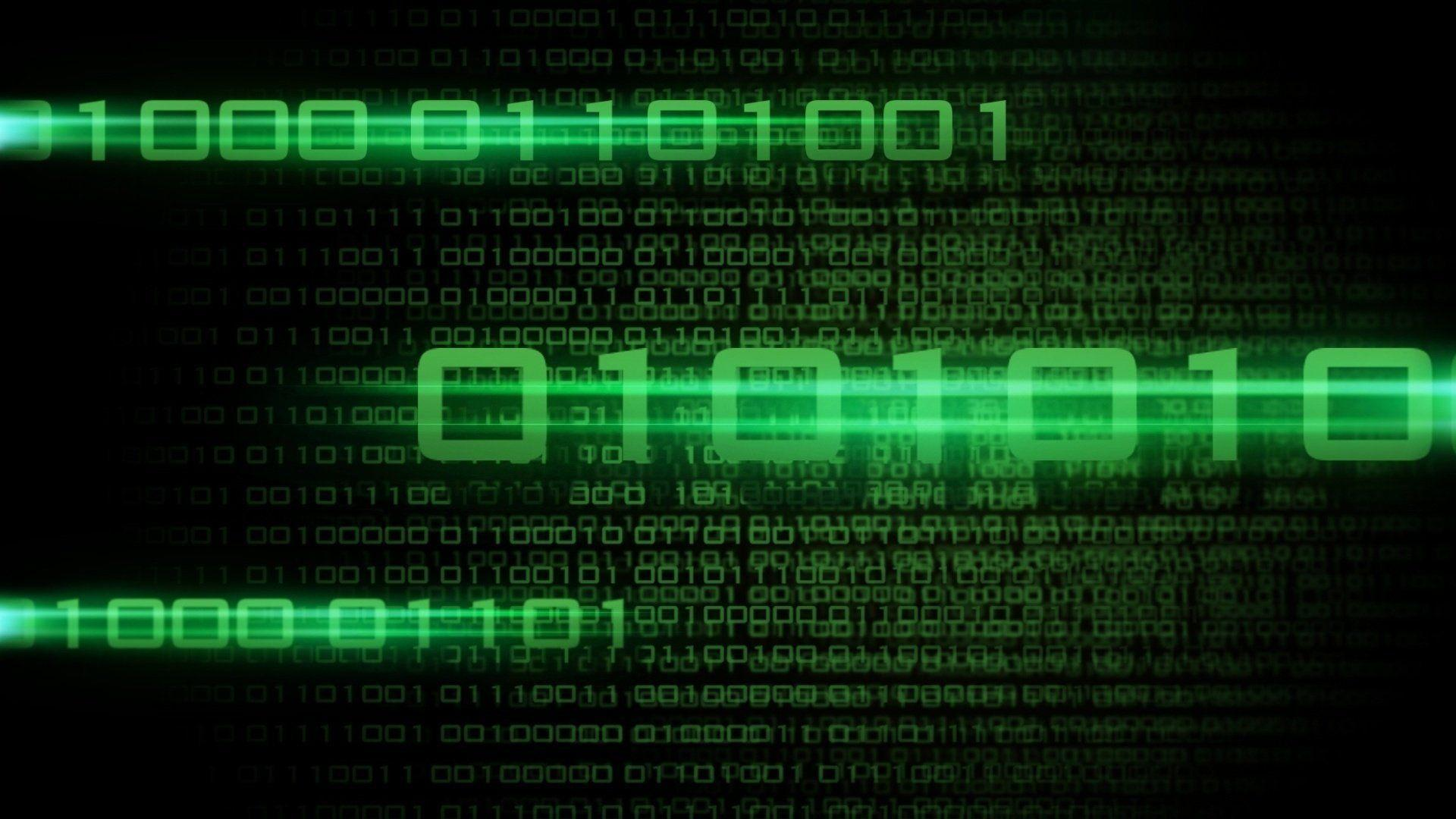 binary code it software background HD wallpaper