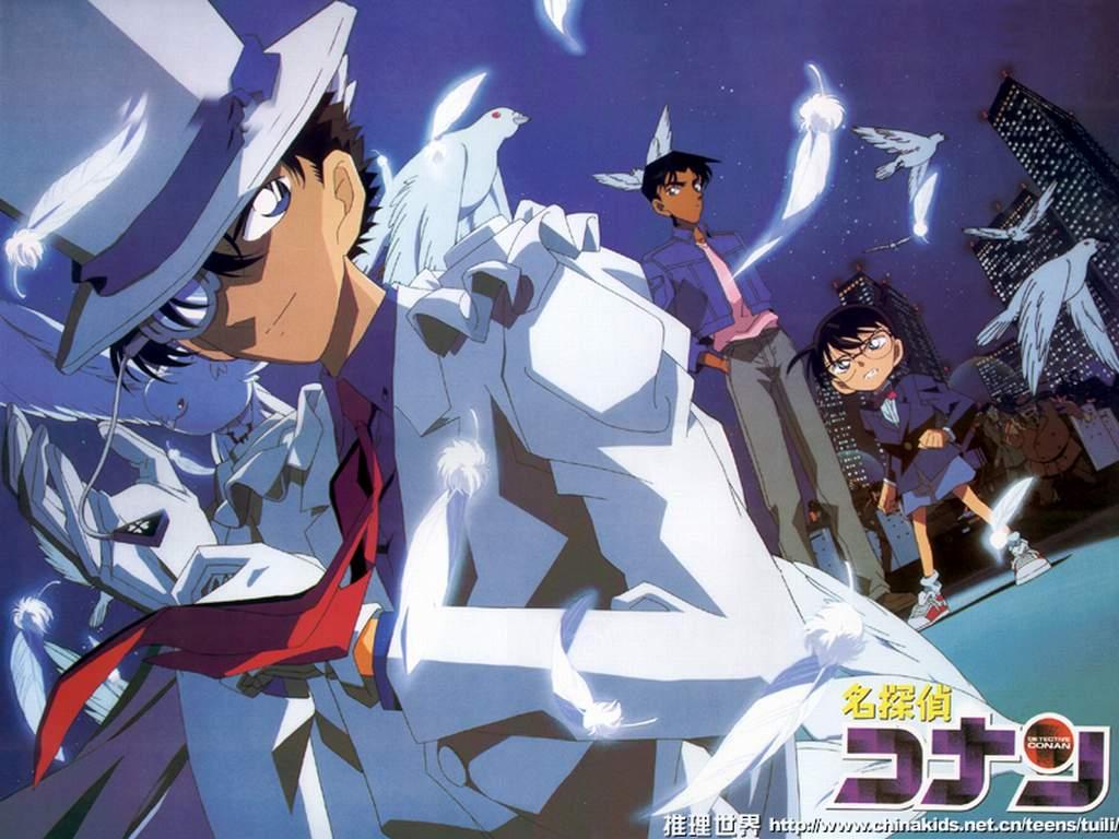 Kaito Kid Photos in Detective Conan