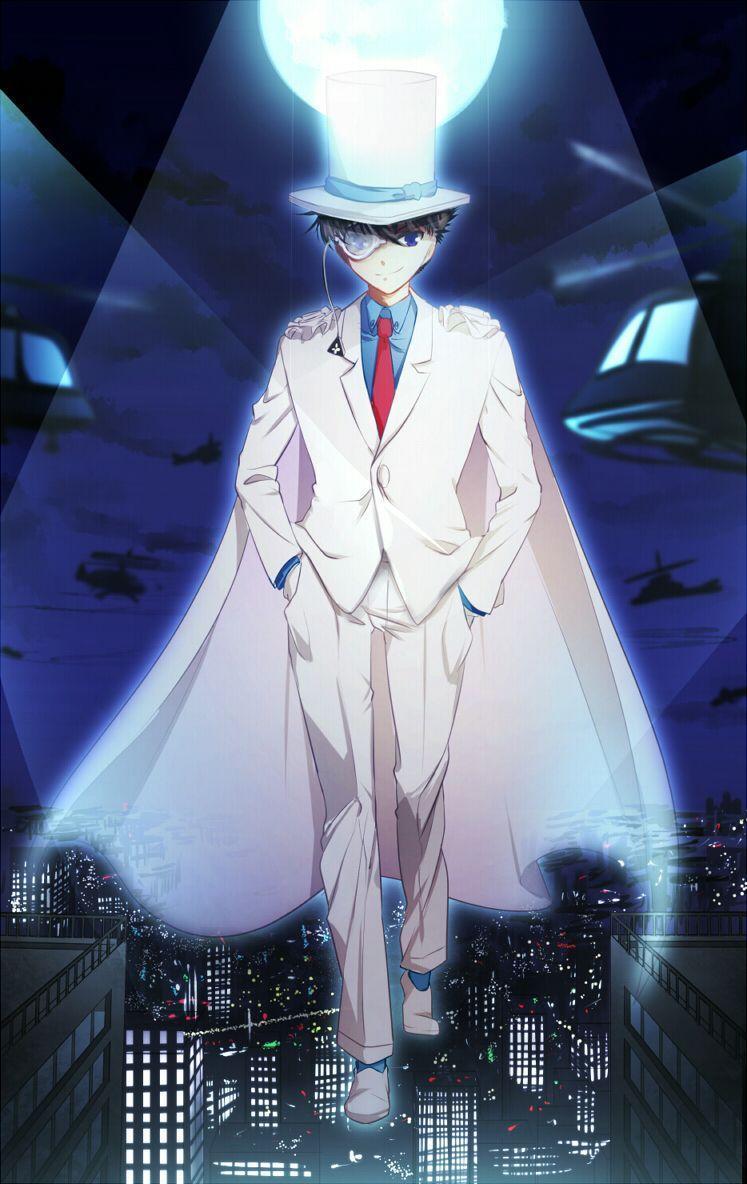 Kaito Kid - Magic Kaito. | Detective Conan | Pinterest | Kid ...