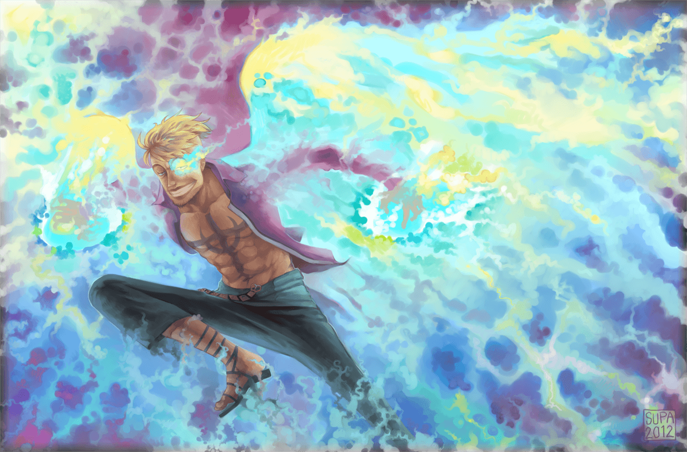 9 Marco (One Piece) HD Wallpapers | Backgrounds - Wallpaper Abyss