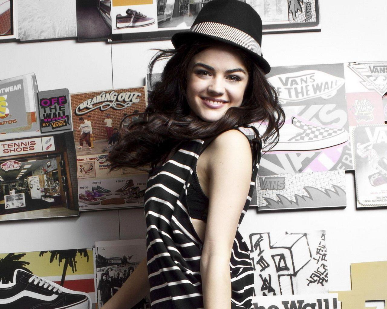 Lovely Wallpapers: Lucy Hale Cute Wallpaper