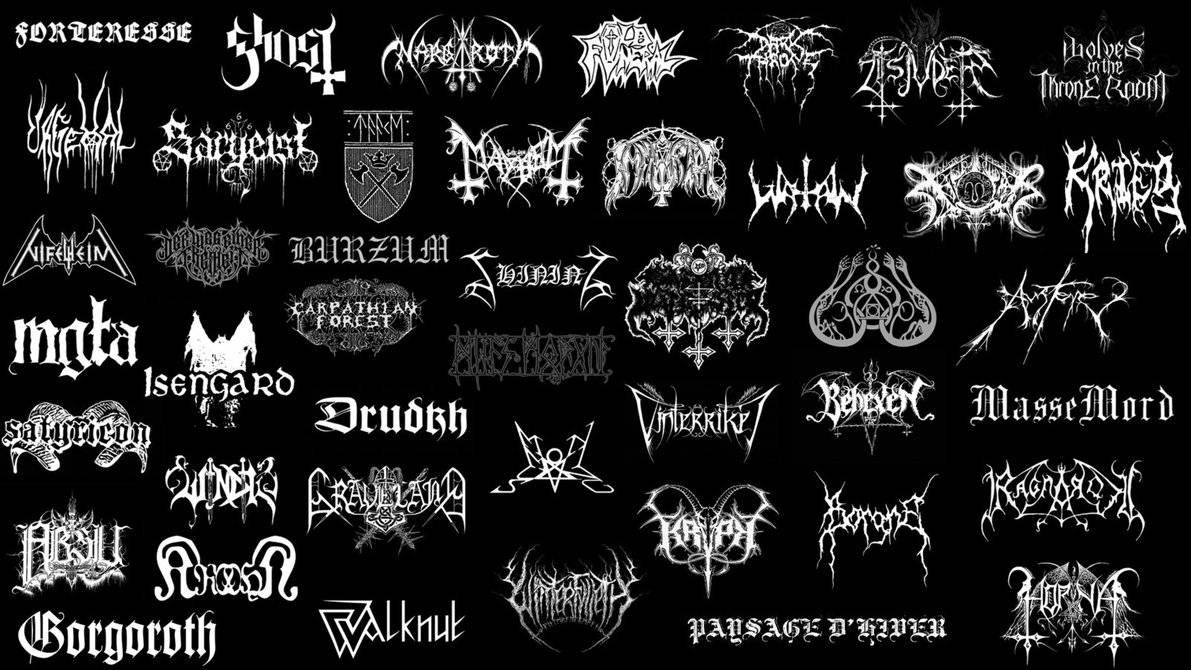 Black metal wallpaper 1 - Black Metal Picture