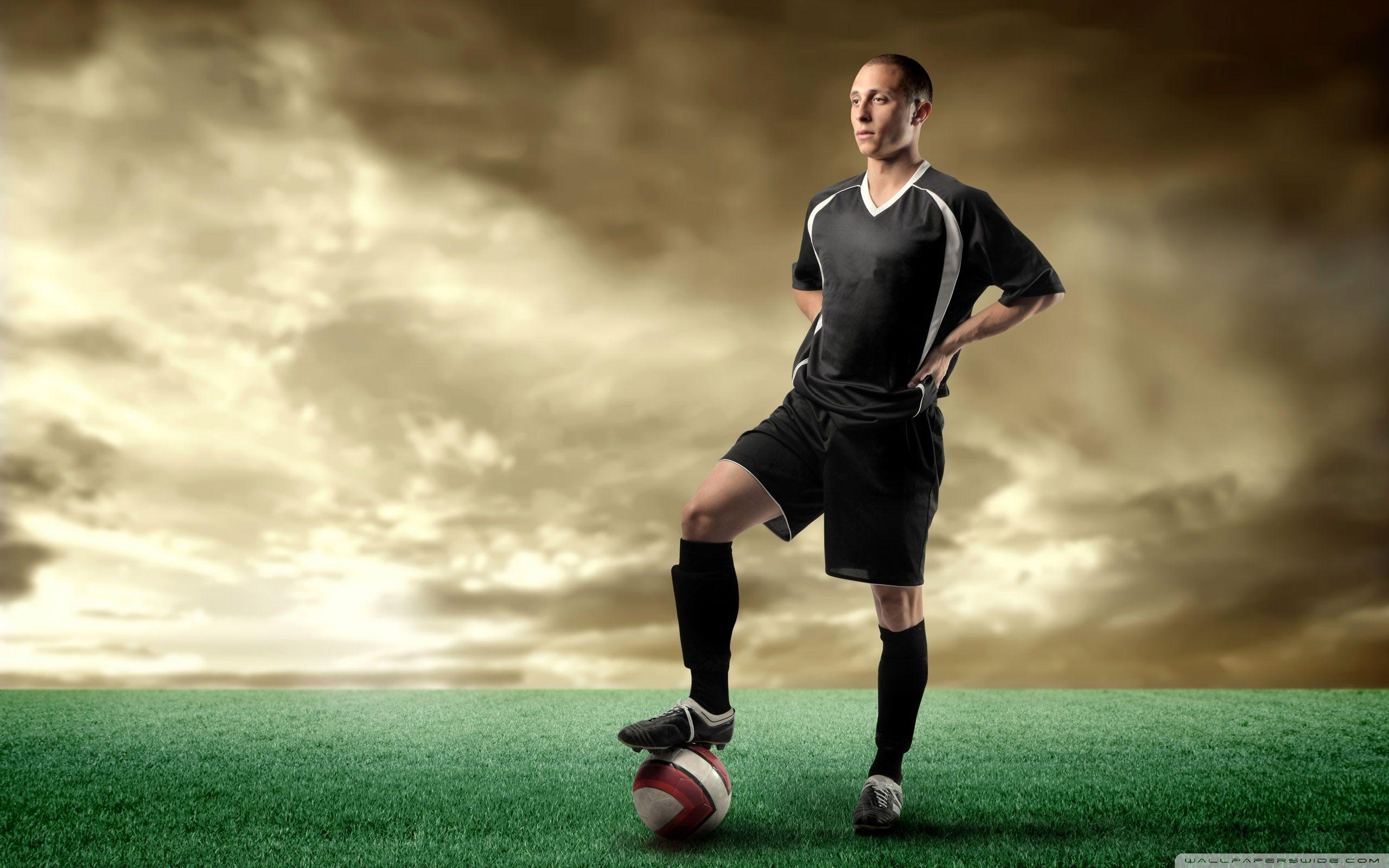 Soccer Player HD desktop wallpaper : Fullscreen : Mobile