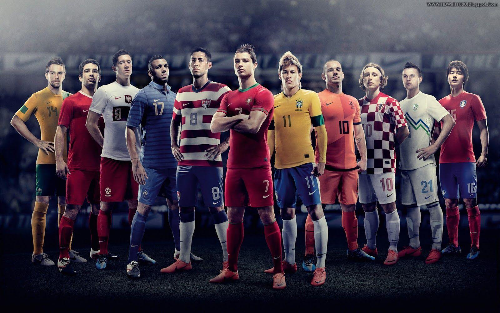 Collection of Football Players on HDWallpapers