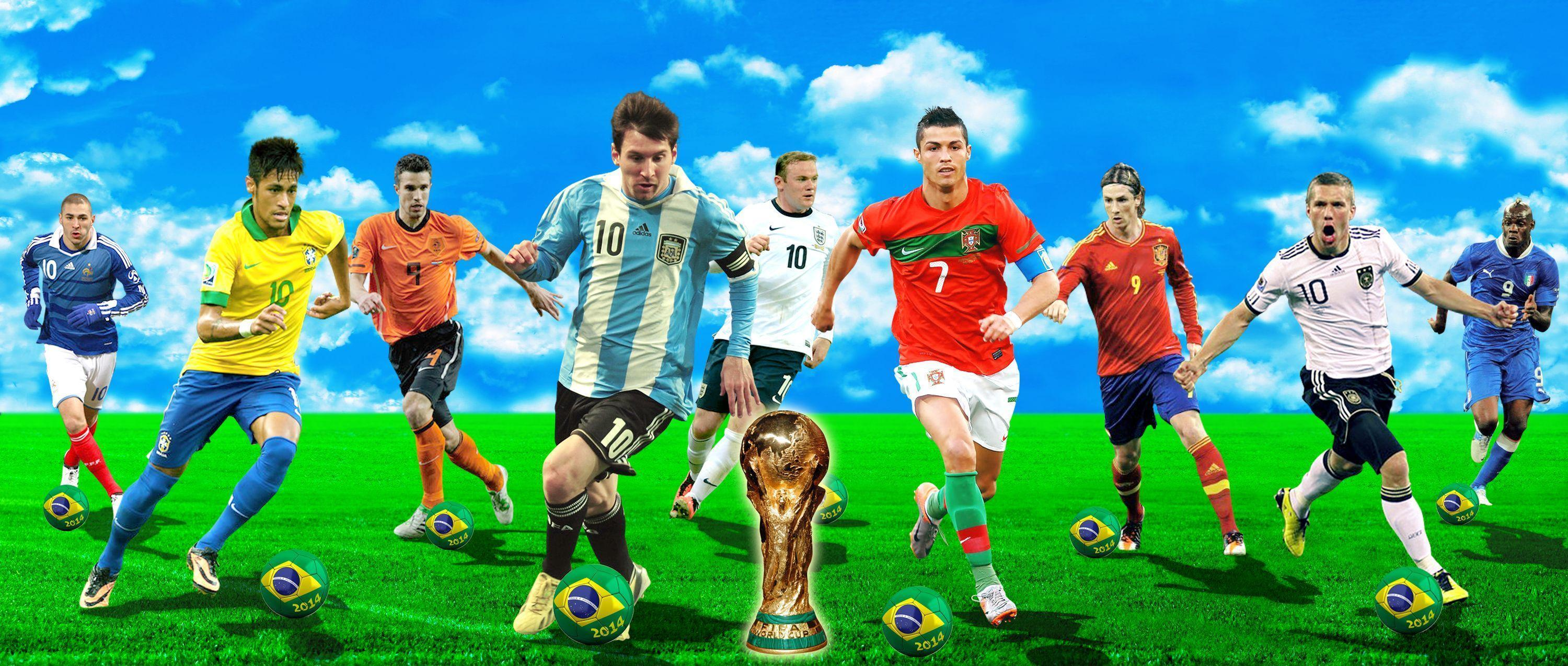 Best Soccer Players Wallpaper - WallpaperSafari