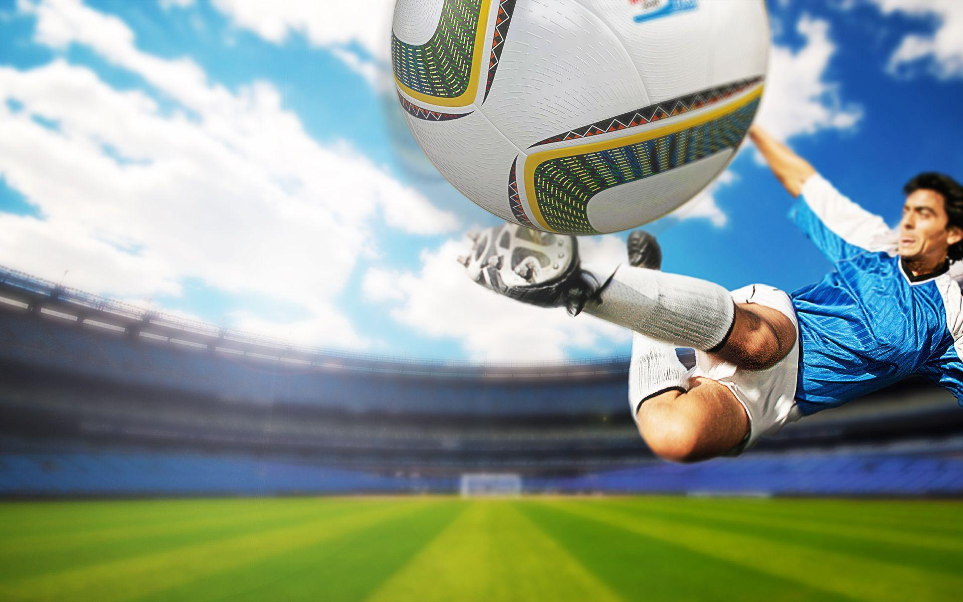 Soccer Player in Action wallpaper – wallpaper free download