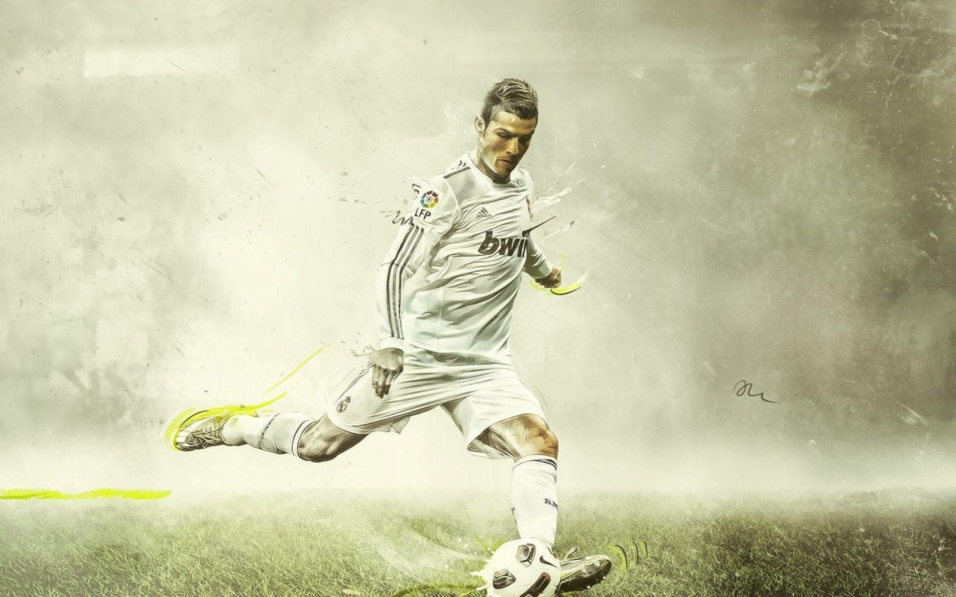 Cristiano Ronaldo Wallpaper Real Madrid Wallpaper