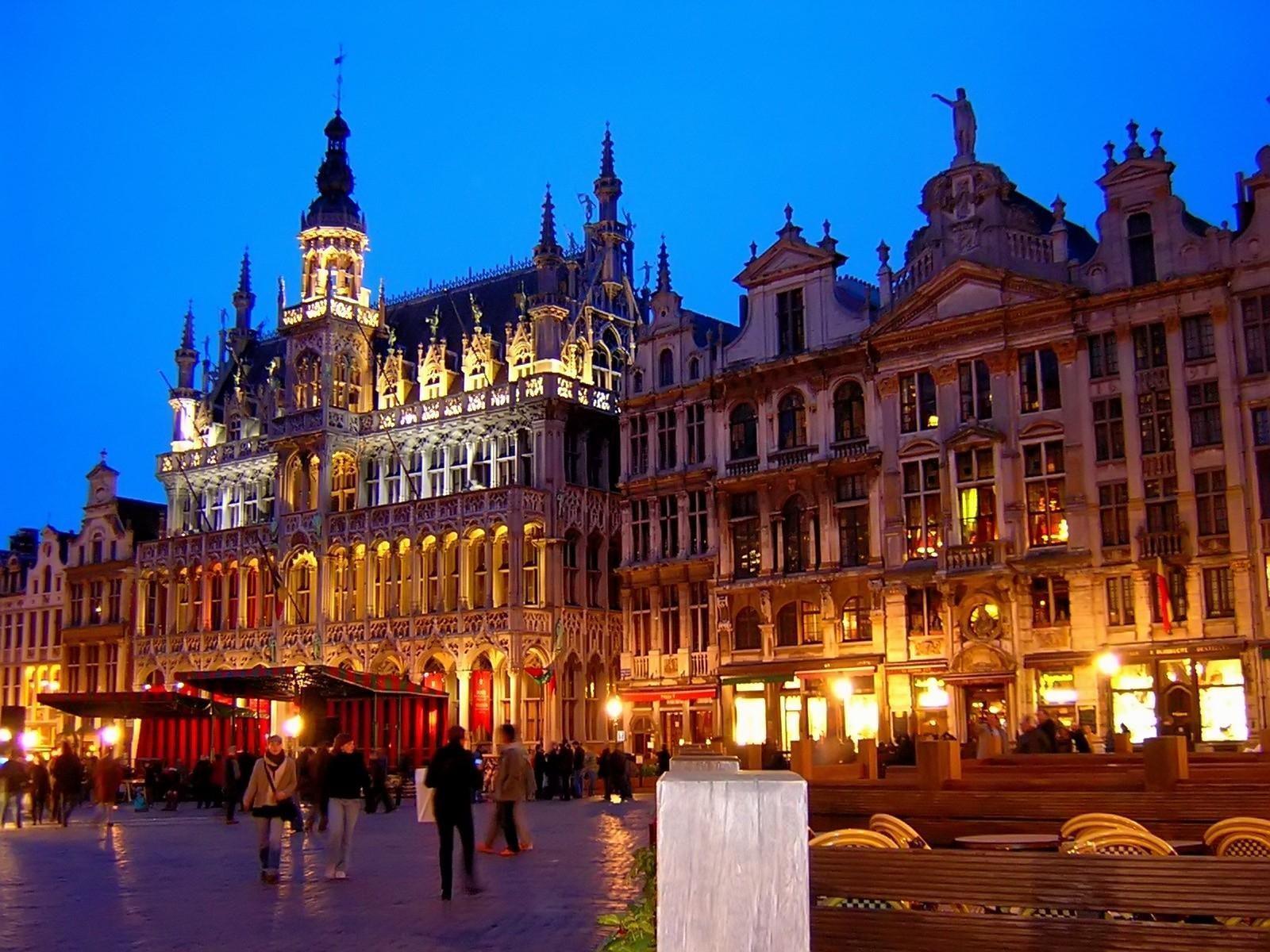 Wallpapers Castles Belgium Cities download photo