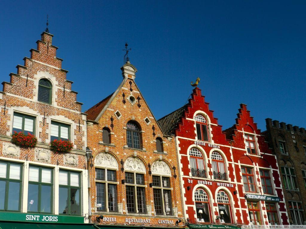 Bruges Architecture Style Belgium Wallpapers | Hd Wallpapers