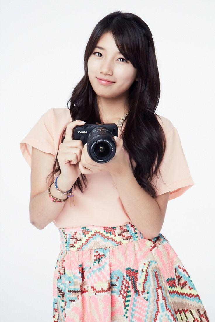 Free Cute Bae Suzy Canon CF Wallpaper Pictures collection ...