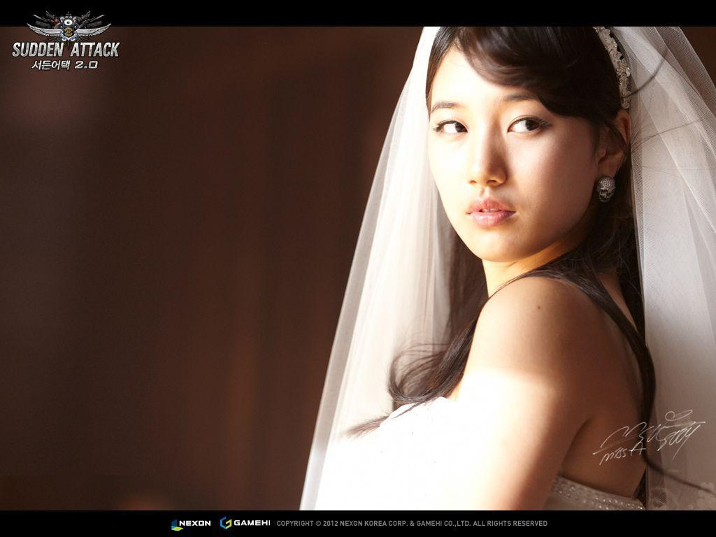 Dekstop Background Bae Suzy Beautiful Wedding Dress HD Wallpaper ...