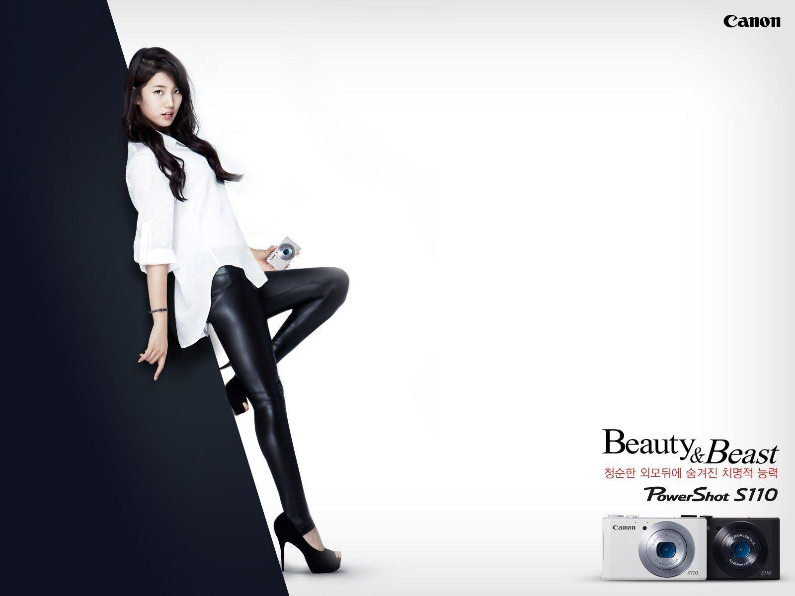 Share free wallpaper for Mature Miss A Suzy Canon CF Wallpaper HD ...
