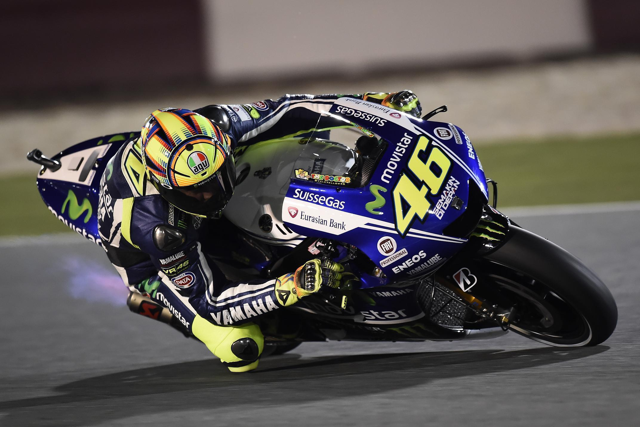 Valentino Rossi Movistar Yamaha 2014 MotoGP Wallpapers Wide or HD