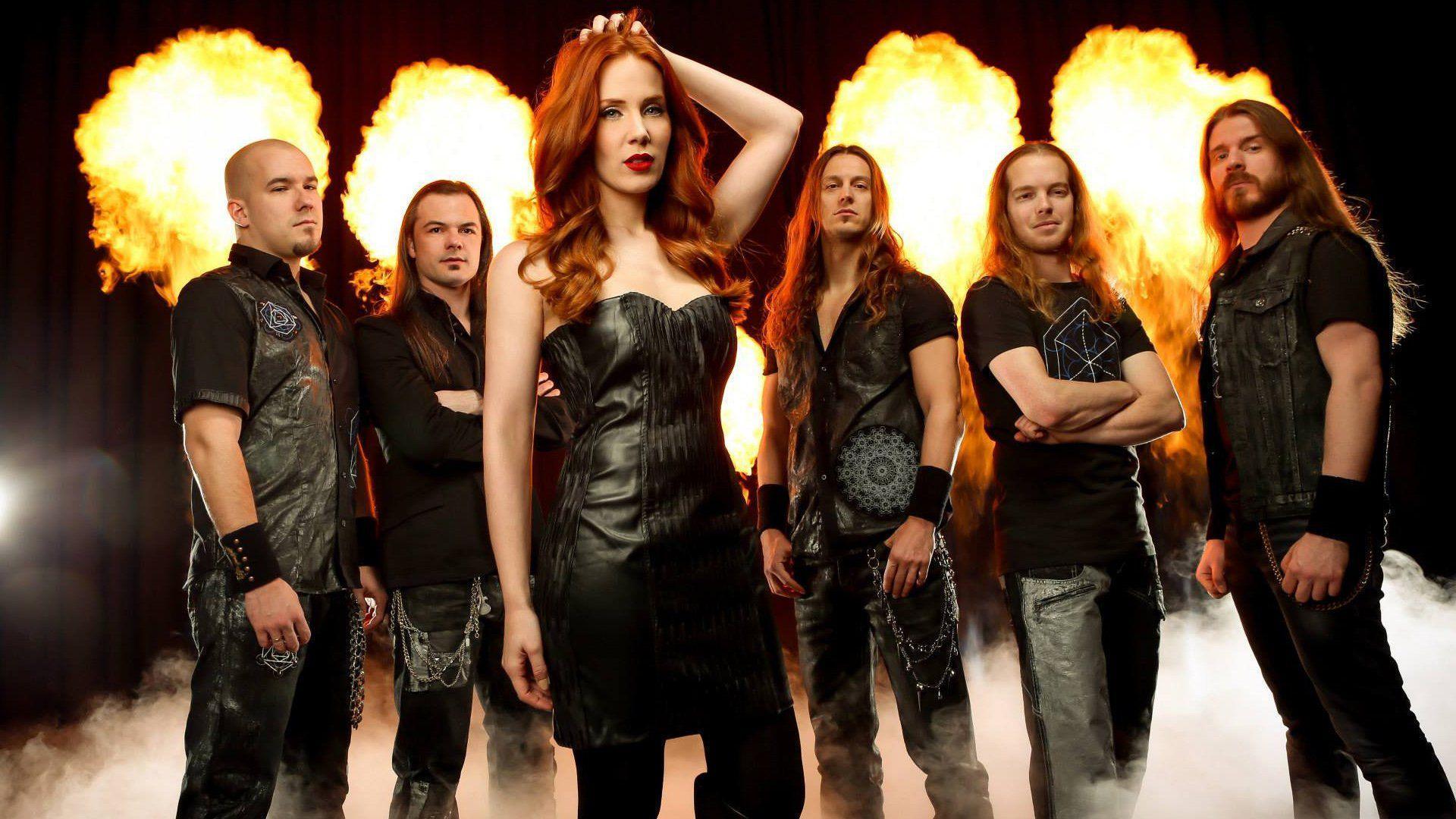 EPICA Simone Simons symphonic metal power heavy wallpaper ...
