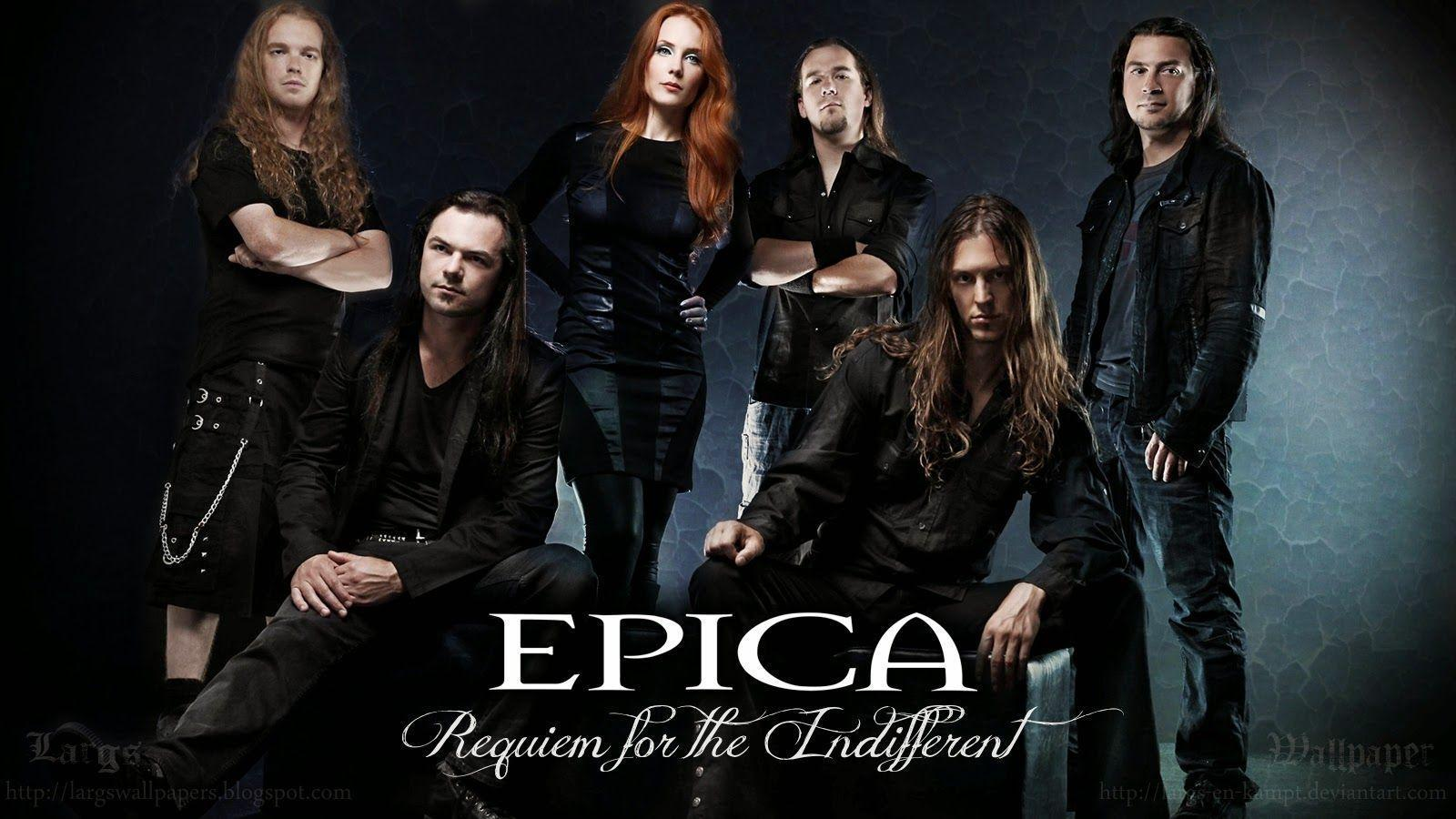 59° EPICA WALLPAPER - REQUIEM FOR THE INDIFFERENT