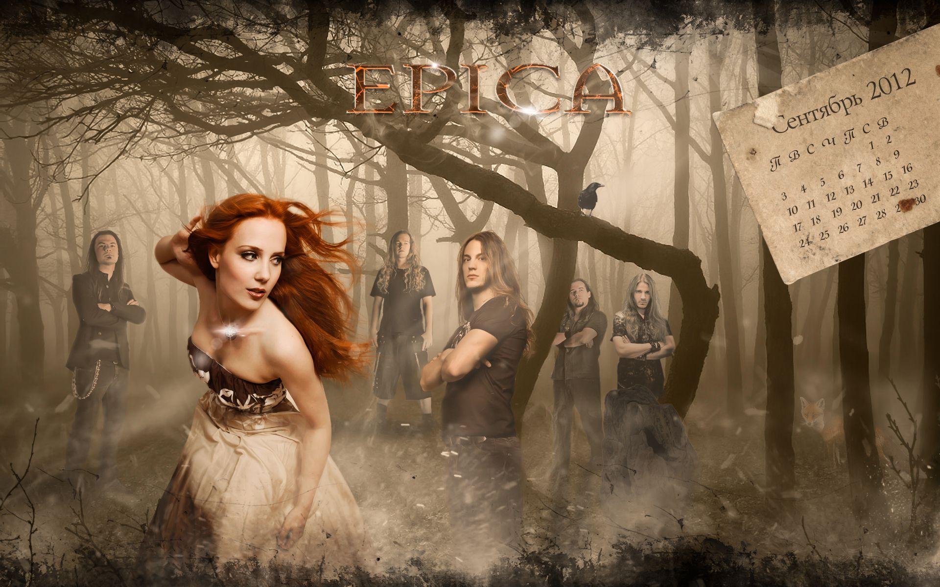 EPICA Simone Simons power metal heavy hard rock w wallpaper ...